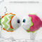 Emma ~ Baby Rattle Soft Toy Sewing Pattern - PDF Instant Download